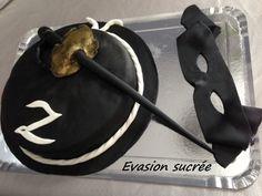 Gâteau 3D Zorro