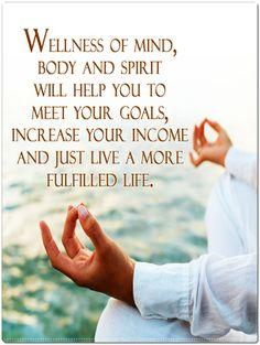 #wellness of mind, body and spirit