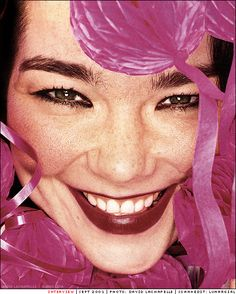 Stunning photo of Bjork.