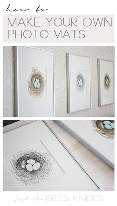 Diy Crafts Ideas : How to make your own photo mats.