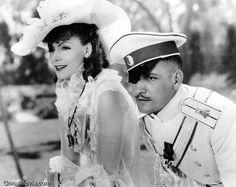 Anna Karenina (1935)  Director: Clarence Brown;  Casts: Greta Garbo (Anna Karenina), Basil Rathbone (Karenin), Fredric March (Vronsky), Maureen O'Sullivan (Kitty), Gyles Isham (Levin).