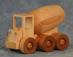 Order today and help support us on Kickstarter..Construction Series Cement Truck