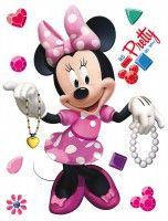 New Wandsticker Disney Minnie Maus bunt xcm DK