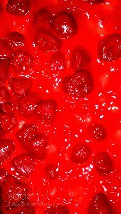 Strawberry cheese cake by AngieSelman