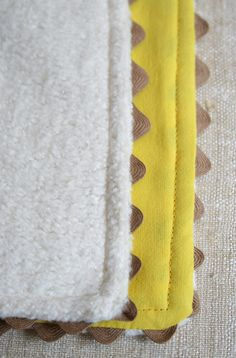 11. DIY for the baby. Cozy Quick Blankie: The Pattern