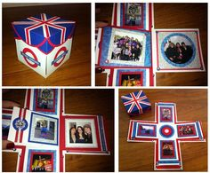 Love this idea for a scrapbook in a box - Study Abroad London