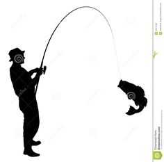 Man Fishing Silhouette   Clipart Panda   Free Clipart Images