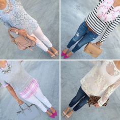 Daily Casual Spring/Summer outfits | StylishPetite.com