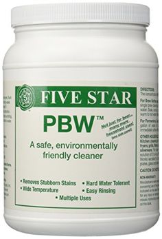 #luxe #interior PBW stands for Powdered Brewery Wash. This product is widely used in commercial breweries across the #country. Use 1 - 2 ounces per gallon for cl...