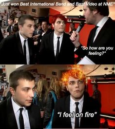 Frank looks so done with his crap haha