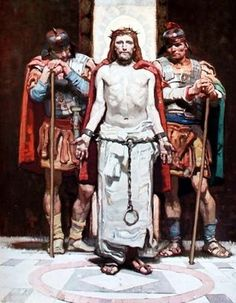 Jesus before Pilate by Dean Cornwell