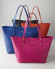 Personalized Totes by Graphic Image at Horchow. #HORCHOWHOLIDAY14