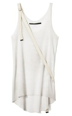 LOGAN NEITZEL, WOVEN SASH STRP TANK: always on the look out for nice d-ring things.