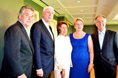 """""""I've been to Ireland 34 times,"""" said Rep. Peter King (R-NY) who hosted an intimate farewell party with colleague Rep. Richard Neal (D-Mass) for Washington's popular diplomatic couple – Michael and Marie Collins."""