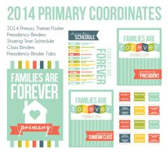 free printables for 2014 primary theme (teacher binders, posters, etc) from All Things Bright and Beautiful