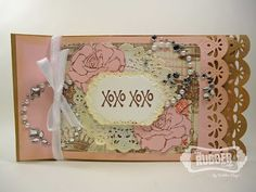 1/17/2013; Debbie on 'The Rubber Cafe Design Team Blog;' with great tutorial for this paper bag brag book