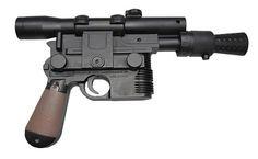 Vintage Star Wars Reproduction armes Luke Jedi Knight Pistolet Gris Pour Action Fig