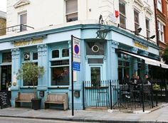 The Builders Arms - TimeOut says its one of the best cider pubs in London!