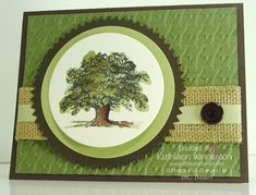 Lovely as a Tree by tyque - Cards and Paper Crafts at Splitcoaststampers