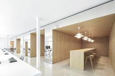 Separate meeting spaces