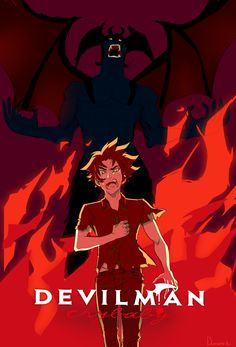 """"""" """"I'm a demon with a human heart"""" I really love this angel and i relate a lot with him. Devilman Crybaby, I Love Anime, Me Me Me Anime, Anime Manga, Anime Art, Akira Kurusu, Crying Man, Japanese Anime Series, Hero's Journey"""