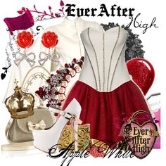 """Ever After High : Apple White"" by missm26 on Polyvore"