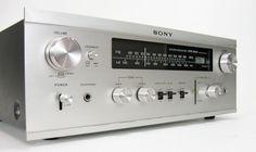 SONY STR-6040 VINTAGE STEREO RECEIVER SERVICED * NICE! #Sony