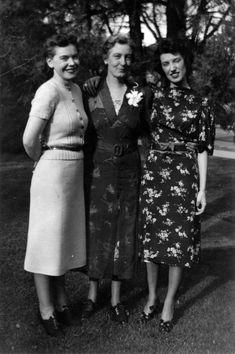 Title: Three women Date: 1939 1930s, Third, Women, Woman