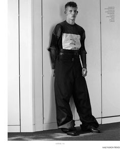 Connor Newall photographed by Charlotte Hadden and styled by Hugo Lavin, for the latest issue of Varón magazine. Connor Newall, Spring Summer 2016, Editorial Fashion, Fashion Photography, Charlotte, Normcore, Style Inspiration, Mens Fashion, Pants