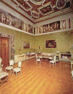 Studio del Presidente, Palazzo Spada, Consiglio di Stato, Rome, Italy