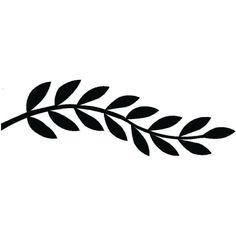 Outline Leaf Border Clipart Black And White