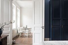 Dark blue and kitchen tiles