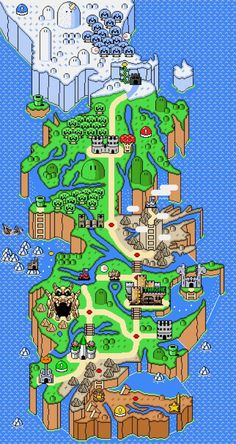 NESteros - 'Game Of Thrones' Meets 'Super Mario' In Epic Mushroom Kingdoms Map - Forbes