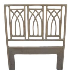 Bed Furniture, Outdoor Furniture, Outdoor Decor, Modern Shabby Chic, Twin Headboard, Organic Modern, Bed Sizes, Vintage Decor, Rattan