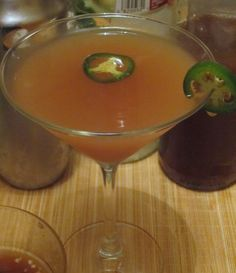 Jalapeno infused vodka cocktail recipes