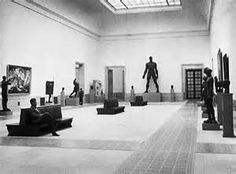 Hall of the Great German Art Exhibition 1937
