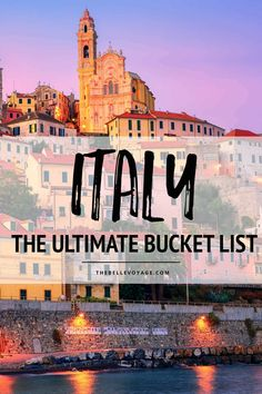The Ultimate Italy Bucket List: Top 20 Places to Visit The Ultimate Italy Bucket List: Top 20 Places to Visit,europe trip Traveling to Italy? This bucket list has the top 20 places to see. Europe Destinations, Cinque Terre, Italy Travel Tips, Travel Europe, Time Travel, Summer Travel, Budget Travel, Poland Travel, Cheap Travel