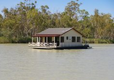 Houseboat on the river Murray by railfan3, via Flickr