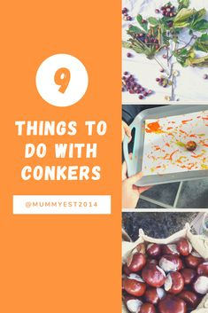 With J collecting two bags of conkers this year I had to get creative with ideas to use them. Find out what we got up to by clicking the link 🍂 Autumn Crafts, Fall Crafts For Kids, Infant Activities, Sycamore Seed, Treasure Basket, Baby F, Conkers, Other Mothers