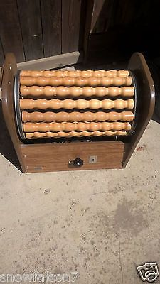 Large Vintage SEARS Rolling Massager Wooden Rollers works great Local Pickup
