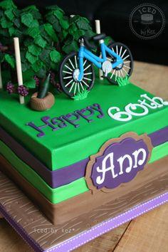 """Grapevines & Bicycle"" Cake «CaKeCaKeCaKe»"