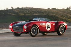 1953 Ferrari 375 MM Spider by Pinin FarinaBoldride.com - Pictures, Wallpapers