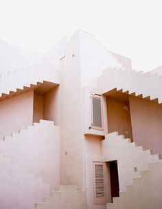 Looking for concrete stairs design and trends? Access a gallery of concrete staircase photos from top outdoor designers. Get that project started! Interior Exterior, Exterior Design, Exterior Stairs, Architecture Design, Berlin Architecture, Amazing Architecture, My New Room, Bauhaus, Color Inspiration