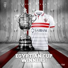 ‪#‎ZamalekSC‬ are crowned Egyptian Cup Champions for the 25th time in history after beating Al Ahly (3-1)