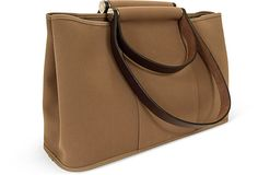 Hermès Garden Party Taupe Toile Bag on OneKingsLane.com