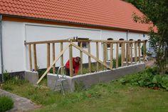 Væg drivhus - www.traedrivhuset.dk