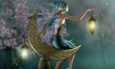 Moon Fairy - 3D and CG Wallpaper ID 1725547 - Desktop Nexus Abstract