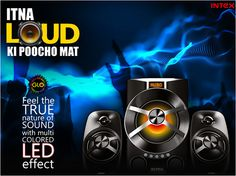 Make the most out of tonight's party. Feel the true nature of sound with Multi Colored LED Effect. #GloSpeakers