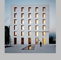 """Baumschlager Eberle: Edificio de oficinas en Lustenau (Austria) un ejemplo de arquitectura """"low-tech"""""""