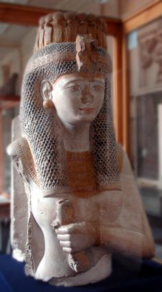 Queen Meritamun was the royal daughter of Ahmose I & Ahmose Nefertari & the Great Royal Wife of her brother Amenhotep I, pharaoh in the 18th dynasty.
